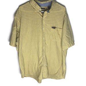 Chaps Short Sleeve Button Up Shirt